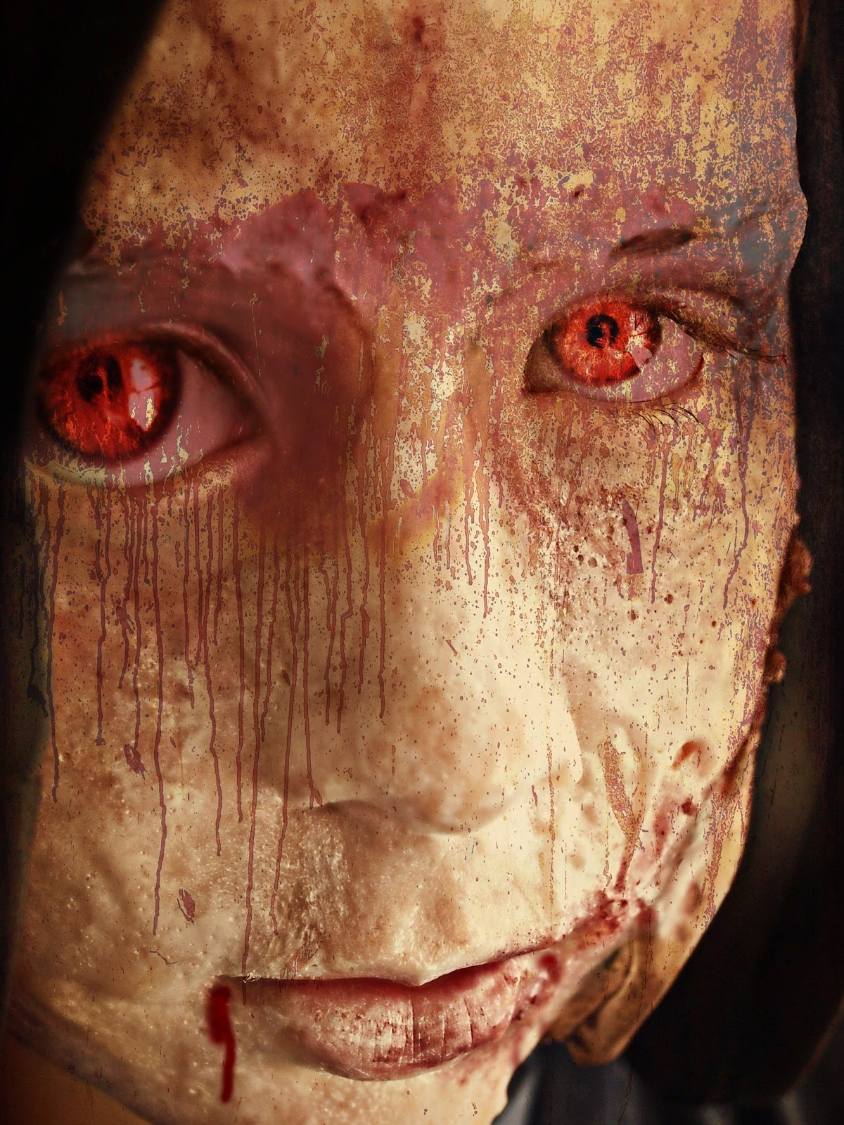 Special Effects Makeup: {easyhow To } Halloween Special Effects Make-Up