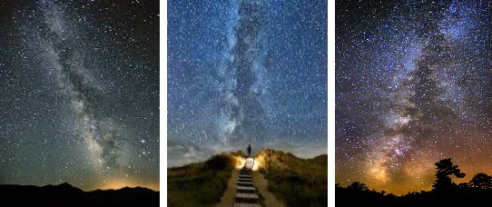 viral images real or fake milky way the heaven s trail myth