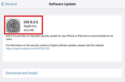 Apple has released iOS 9.3.5 to the public for the iPhone, iPad, and iPod touch which provides an important security update for your iPhone or iPad and is recommended for all users. iOS 9.3.5 has just released 3 weeks after Apple rolled out iOS 9.3.4.