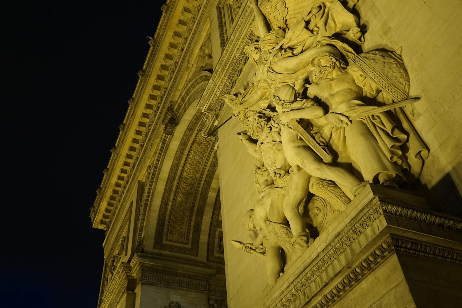エトワールの凱旋門(Arc de triomphe de l'Étoile) 「1792年の義勇兵の出陣」(Le Depart, 1792.=La Marseillaise)