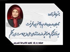 قهرمان مجاهد میترا باقرزاده