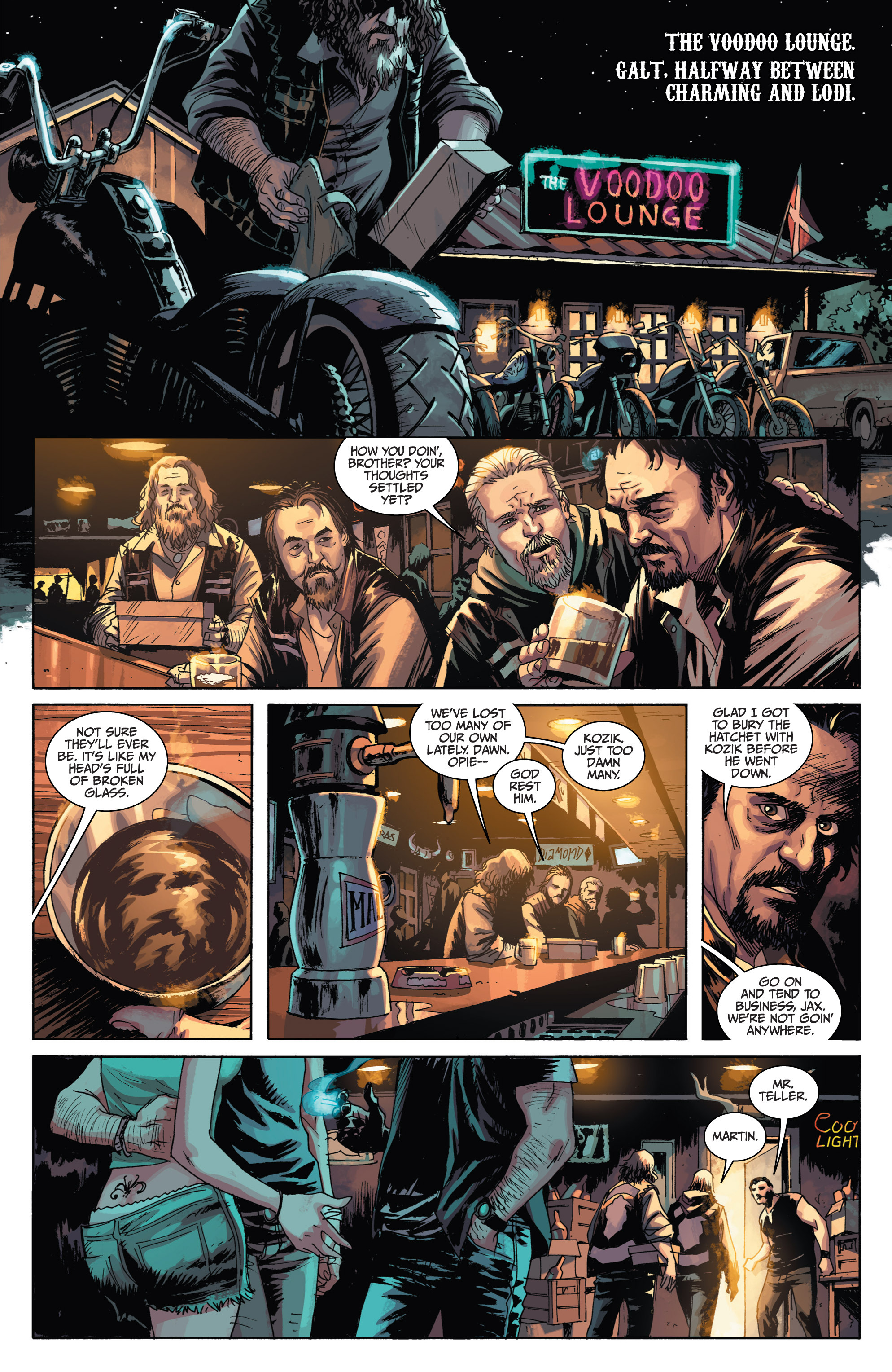 Read online Sons of Anarchy comic -  Issue #1 - 11