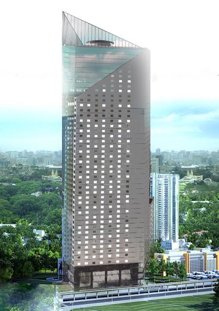 Phối cảnh toà tháp doanh nhân Hà Đông