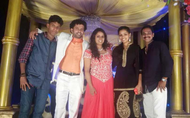 Surabhi Lakshmi family photo