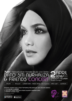 Konsert Dato' Siti Nurhaliza & Friends (2016)