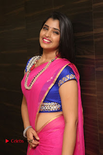 Anchor Shyamala Pictures in Pink Saree at Nandini Nursing Home Audio Launch  0063.JPG