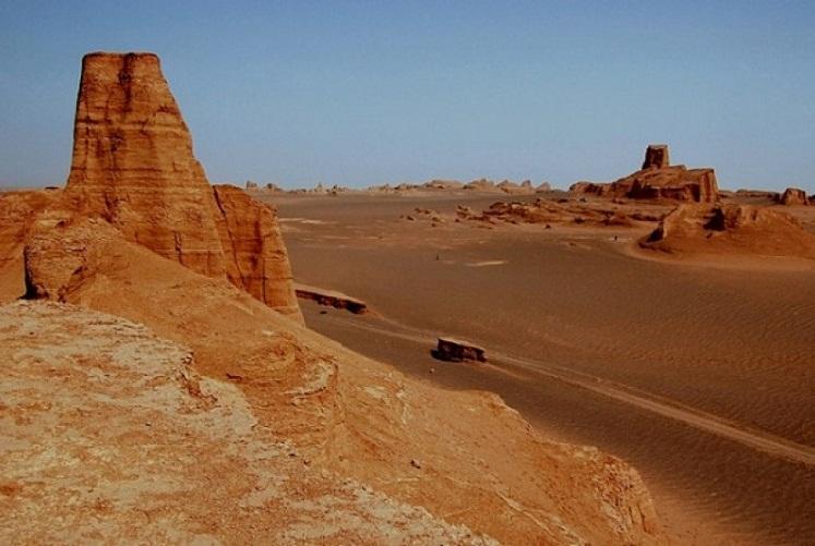 Gurun Luth, Tempat Paling Panas di Muka Bumi