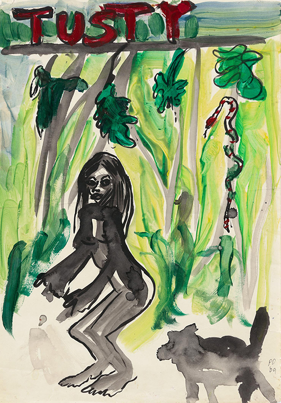 Peter Doig Untitled, 2013 Oil on paper 35 x 25 cm