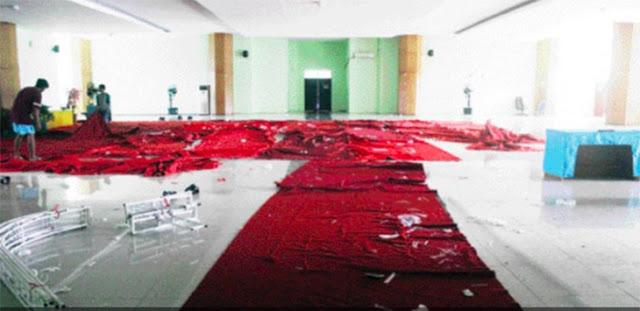 Pesta Nikah di Lantai 2 Masjid Pakai Keyboard Pula, Astagfirullah…