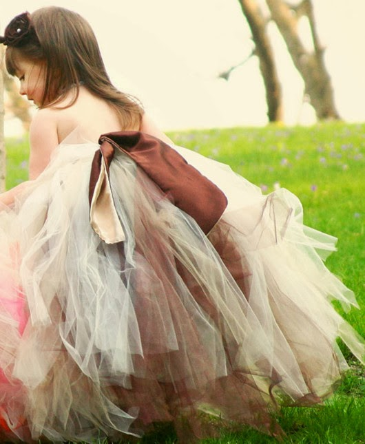 wedding flower girl ideas in princess dress