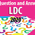 Download Weekly 100 Question and Answers for LDC 2020