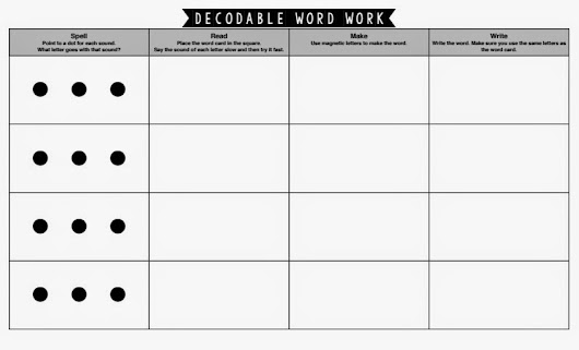 Benchmark Literacy Word Work Freebie