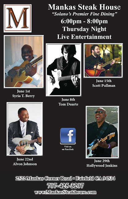 Live Entertainment Thursdays - Alvon Johnson Tomorrow Night!