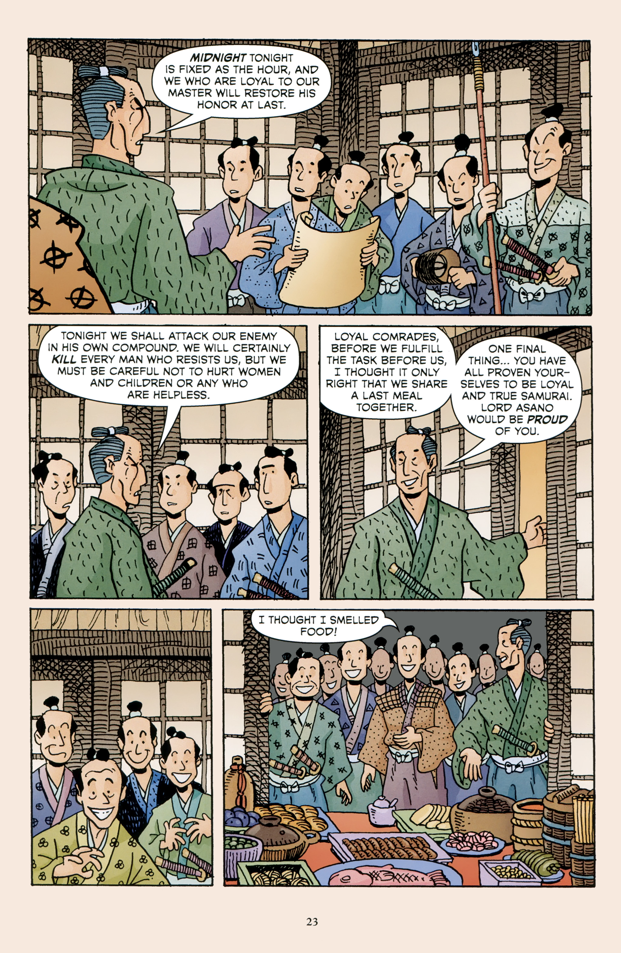 Read online 47 Ronin comic -  Issue #4 - 25