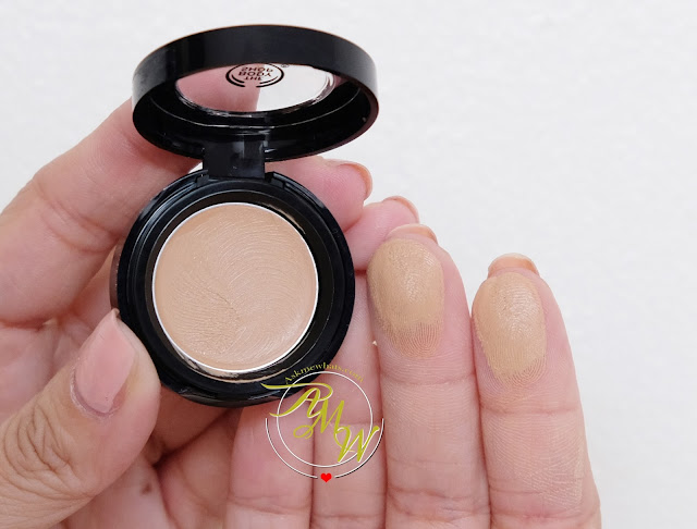 a photo of The Body Shop Matte Clay Full Coverage Concealer Review by Nikki Tiu