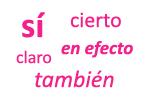 Adverbios de afirmación