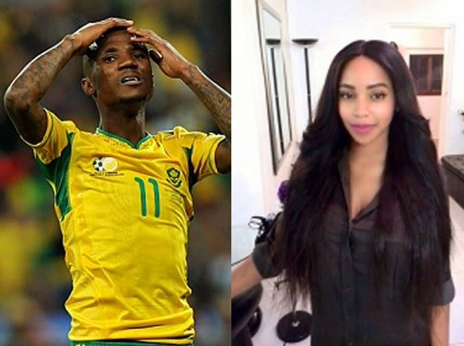 Ex-fiancee spills bedroom secrets after dumping footballer Teko Modise