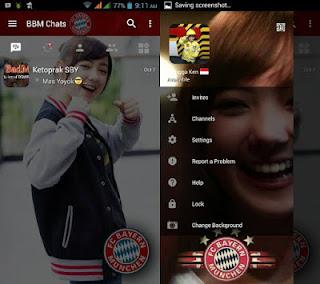 BBM Mod Change Background Theme Bayern Munchen v3.0.1.25 apk
