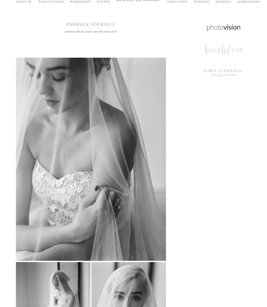 Featured on Belle Lumiere | Embrace yourself | Isaura's bridal session