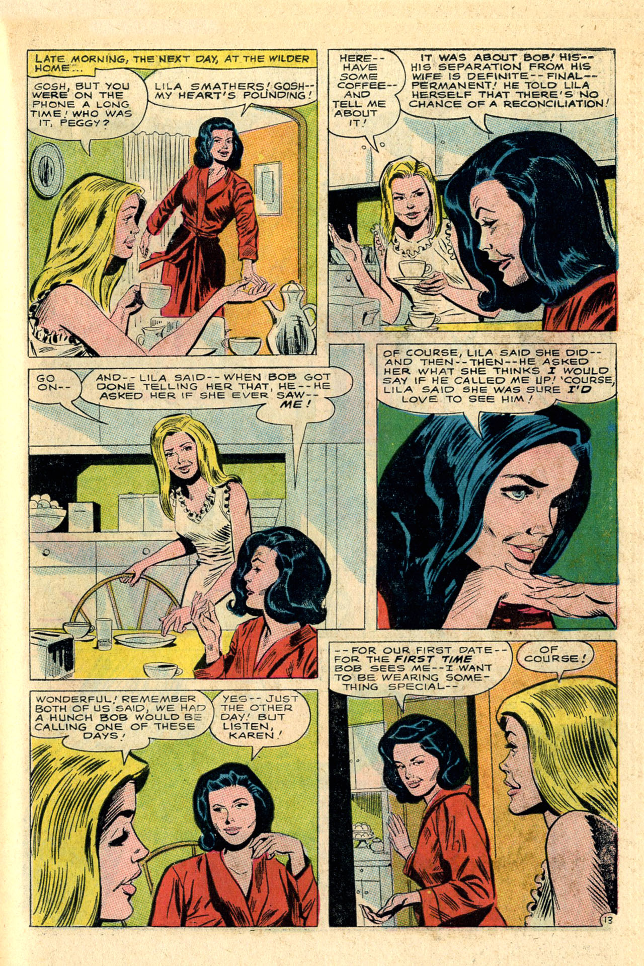 Read online Secret Hearts comic -  Issue #118 - 31