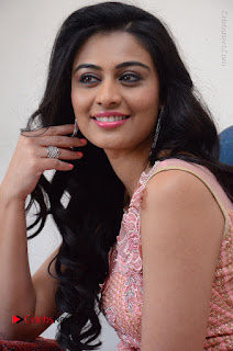 Actress Neha Hinge Stills in Pink Long Dress at Srivalli Teaser Launch  0112.JPG
