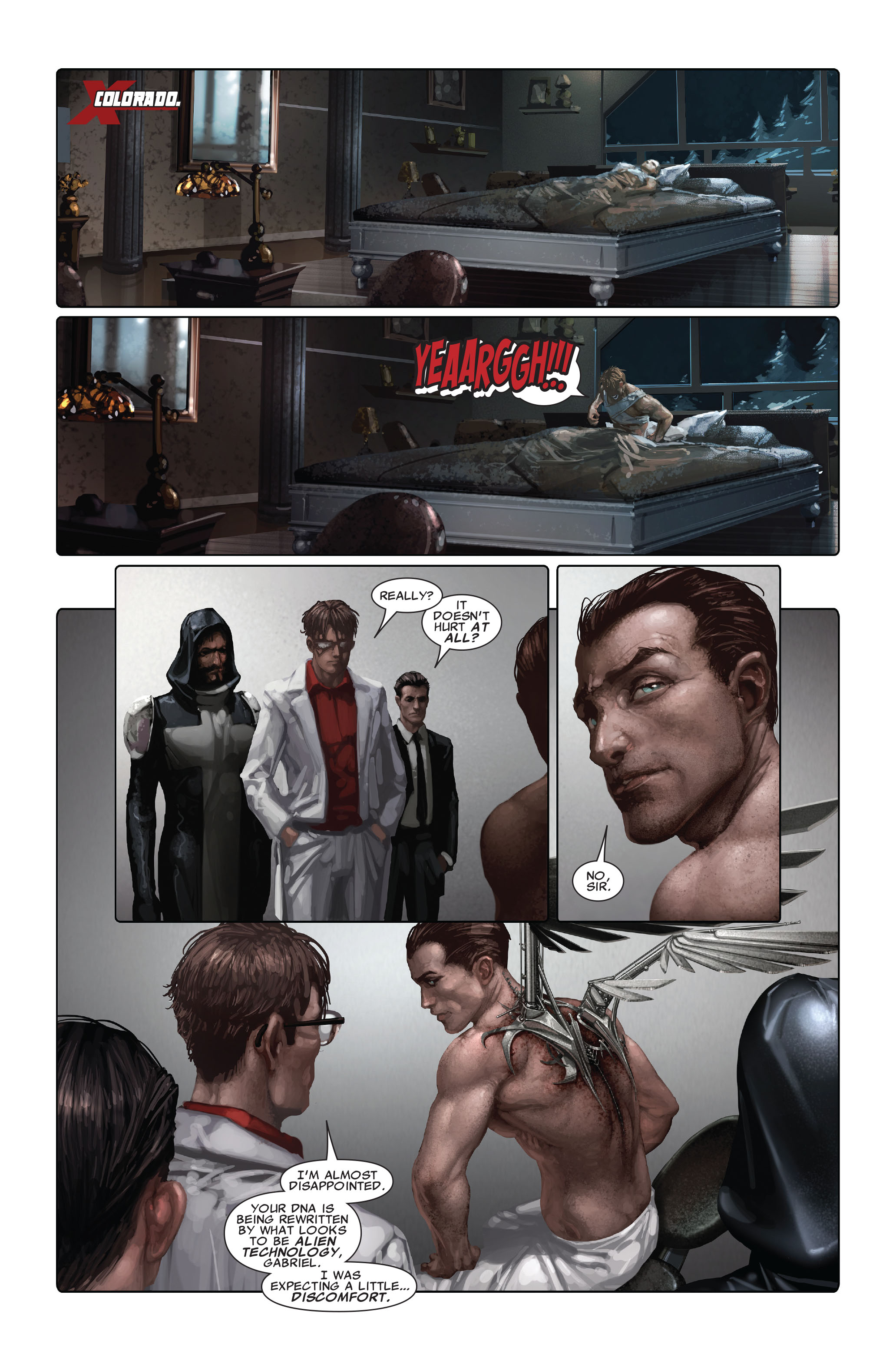Read online X-Force (2008) comic -  Issue #4 - 19