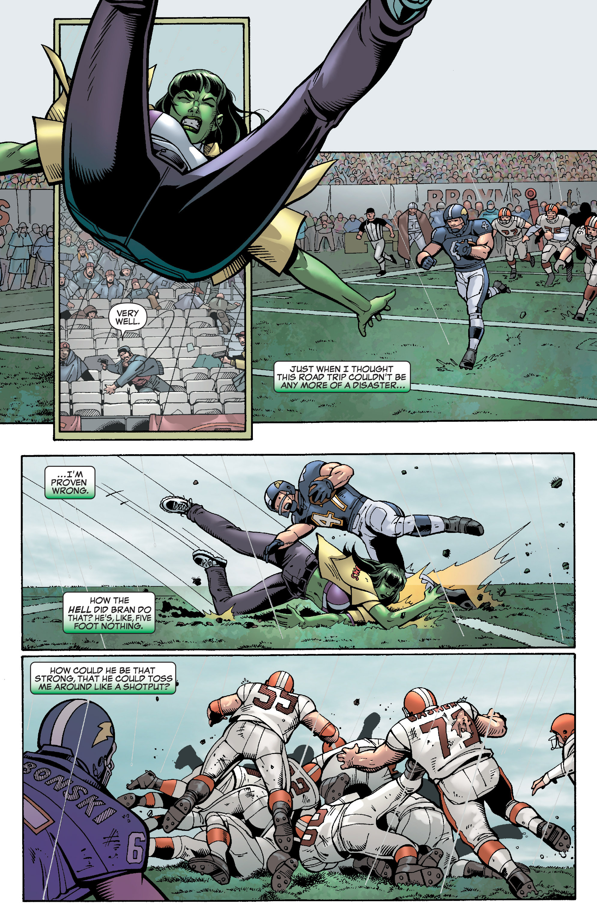 Read online She-Hulk (2005) comic -  Issue #28 - 15