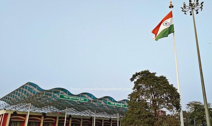 Highest Flag In Kharagpur Station