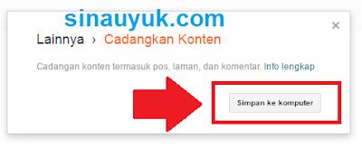 Back Up Blog Data,cadangkan data blog,cadangkan postingan,backup postingan