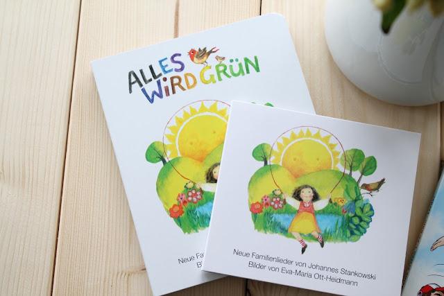Alles wird gruen Neuerscheinung Paenz Verlag Koelsche Lieder fuer Kinder inkl Verlosung Gewinnspiel Jules kleines Freudenhaus