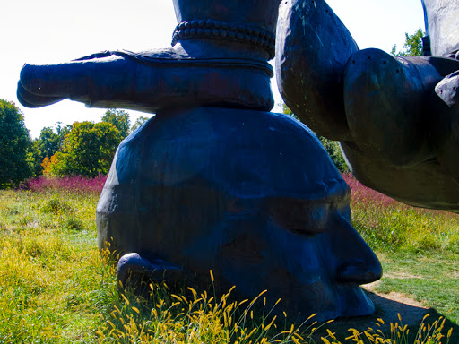Three Legged Buddha - Zhang Huan - Storm King Arts Center