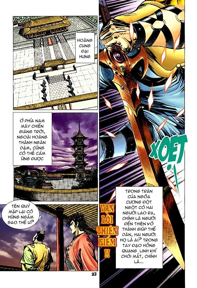 Đại Đường Uy Long chapter 63 trang 22