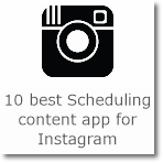 10 best Scheduling content app for Instagram