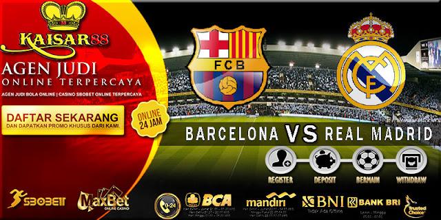 PREDIKSI TEBAK SKOR JITU LIGA SPANYOL BARCELONA VS REAL MADRID 7 MEI 2018