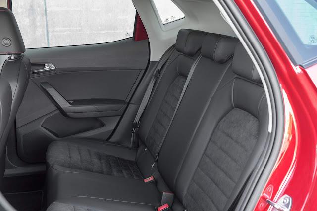 2018 Seat Ibiza FR - espaço traseiro