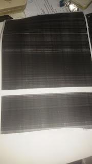 fotocopy bergaris putih