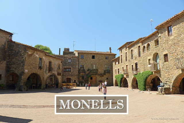 Monells, un bonito pueblo medieval del Bajo Ampurdam
