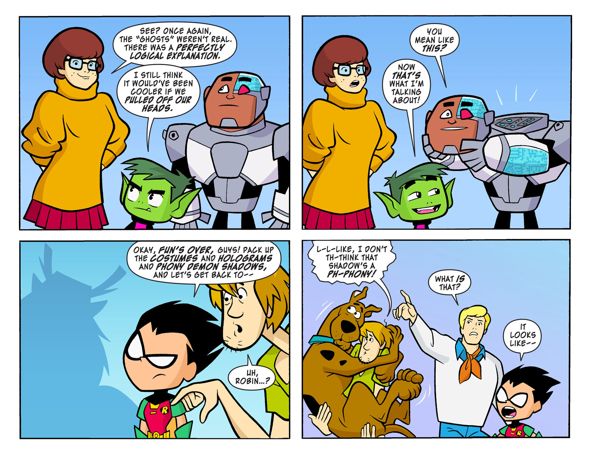 Read online Scooby-Doo! Team-Up comic -  Issue #7 - 21