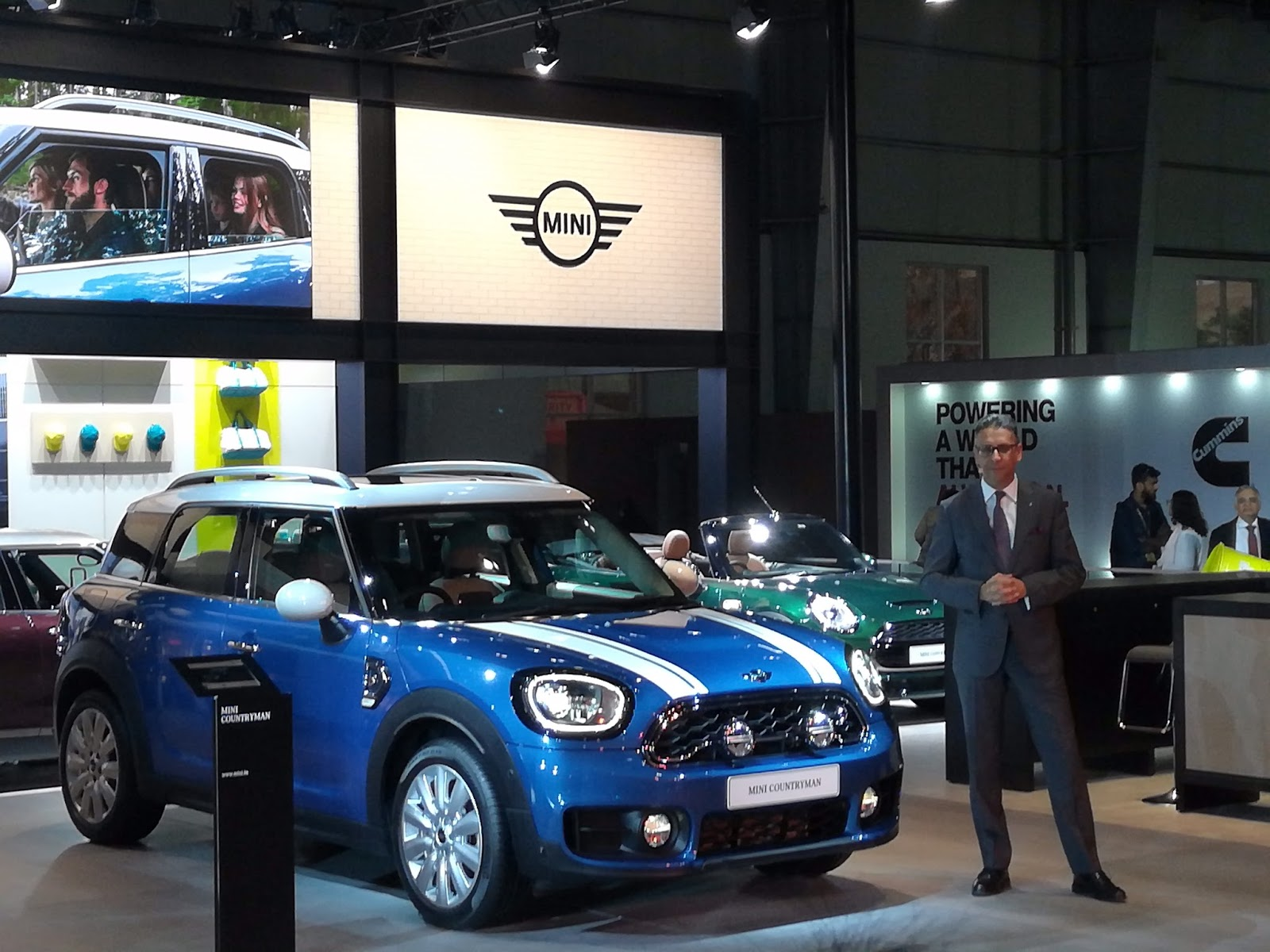 AutoExpo MINI Launches The New Made In India Countryman - Plant city car show 2018
