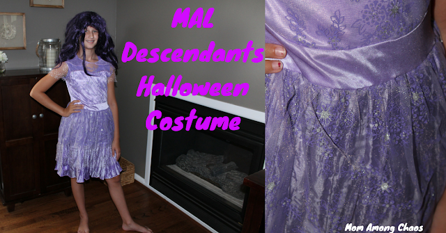 Mal Descendants Halloween Costume, Halloween, costume, kids, Descendants