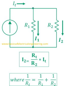 current-divider-formula-for-two-resistors