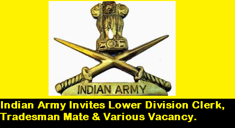 indian-army-jobs-2018-lower-division-clerk