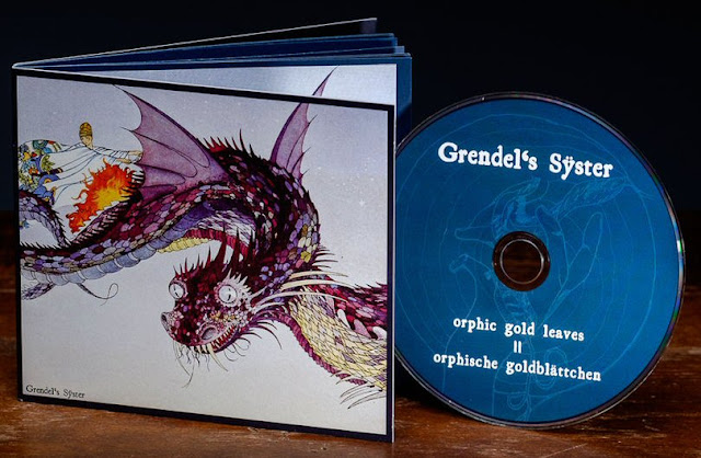 "Το ep των Grendel's Sÿster ""Orphic Gold Leaves / Orphische Goldblättchen"""