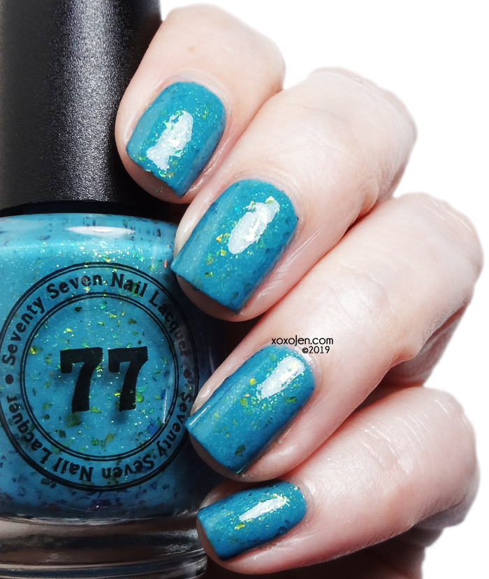 xoxoJen's swatch of 77 Lacquer We Got Some Great Chemistry