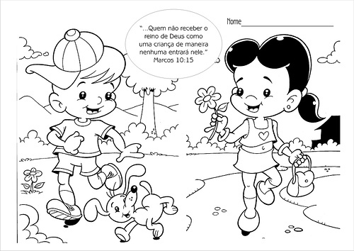 Desenholândia: Desenhos De Amigos E Amizade Para Pintar