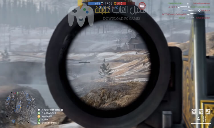 تحميل لعبة Battlefield 1 مضغوطة