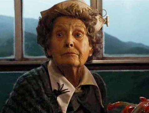 Margery Mason en Harry Potter y el cáliz de fuego - Cine de Escritor