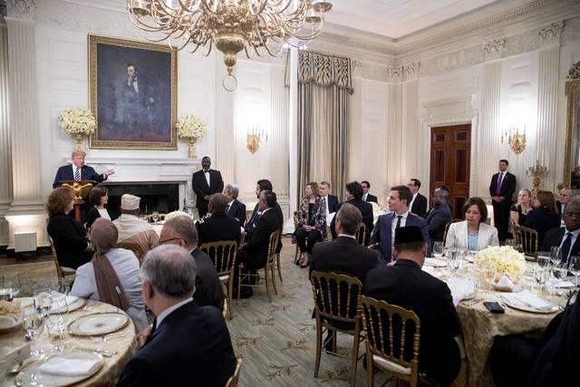 Donald Trump Adakan Buka Puasa Bersama di Gedung Putih
