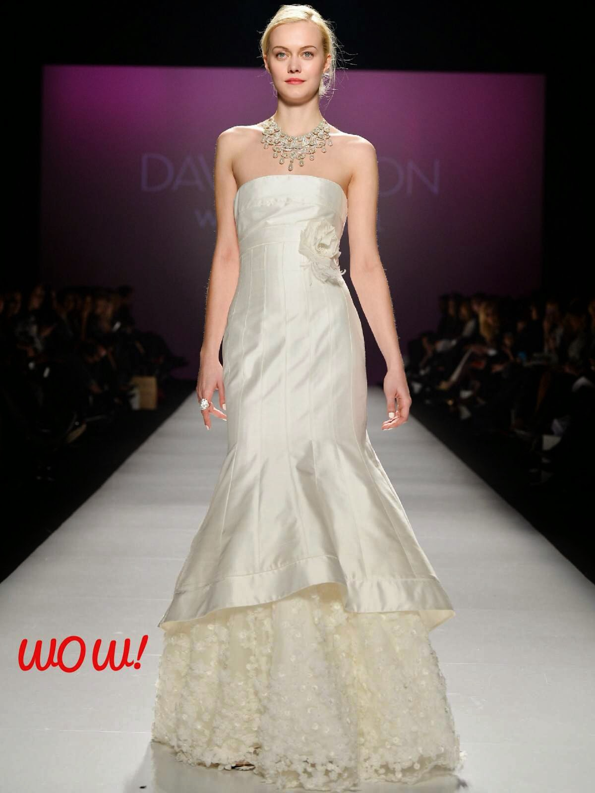 Hudson Bay wedding gown