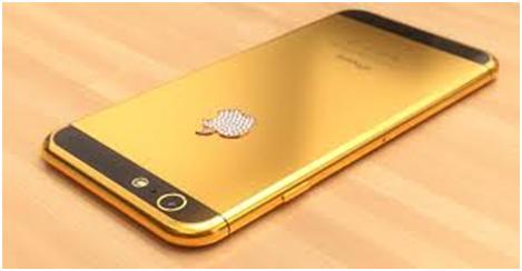 Ternyata Ponsel iPhone 6s Plus Berlapis Emas dan Berlian Loh
